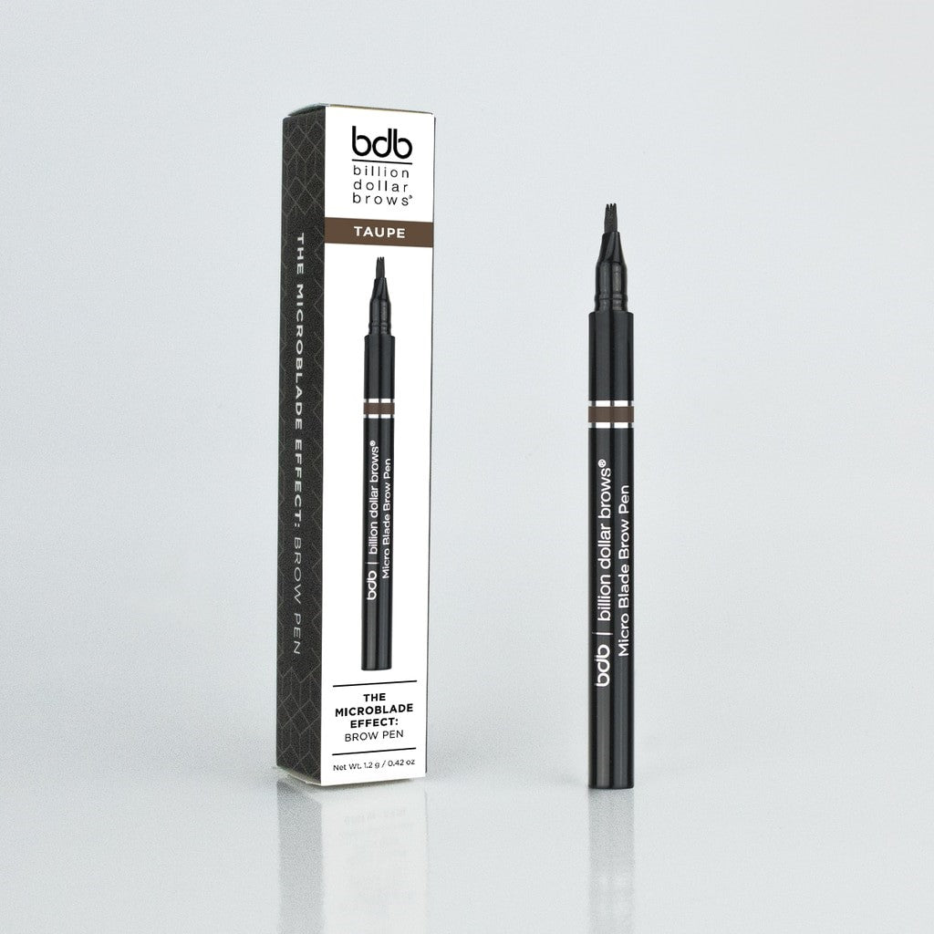 BILLION DOLLAR BROWS MICROBLADE EFFECT BROW PEN RAVEN