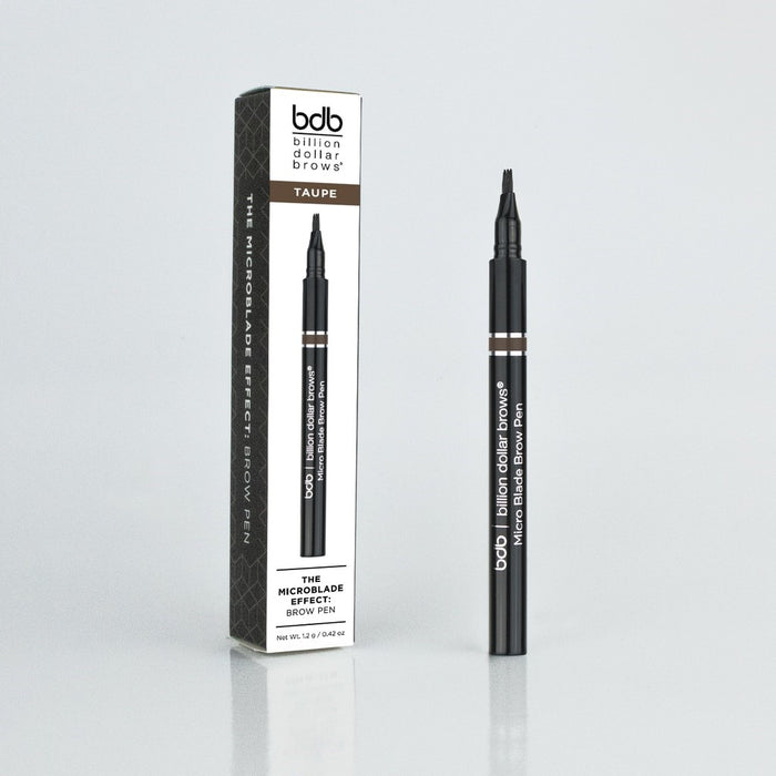 BILLION DOLLAR BROWS MICROBLADE EFFECT BROW PEN TAUPE