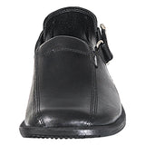 Mario Pellino Mens Palermo Sandals Handmade Genuine Black Leather Sandals For Mens