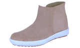 Mario Pellino Womens Short Swede Leather Boot Comfortable Sneaker Boot