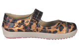 Womens Comfortable Mary Jane Fashion Sneakers Leopard Print Loafers
