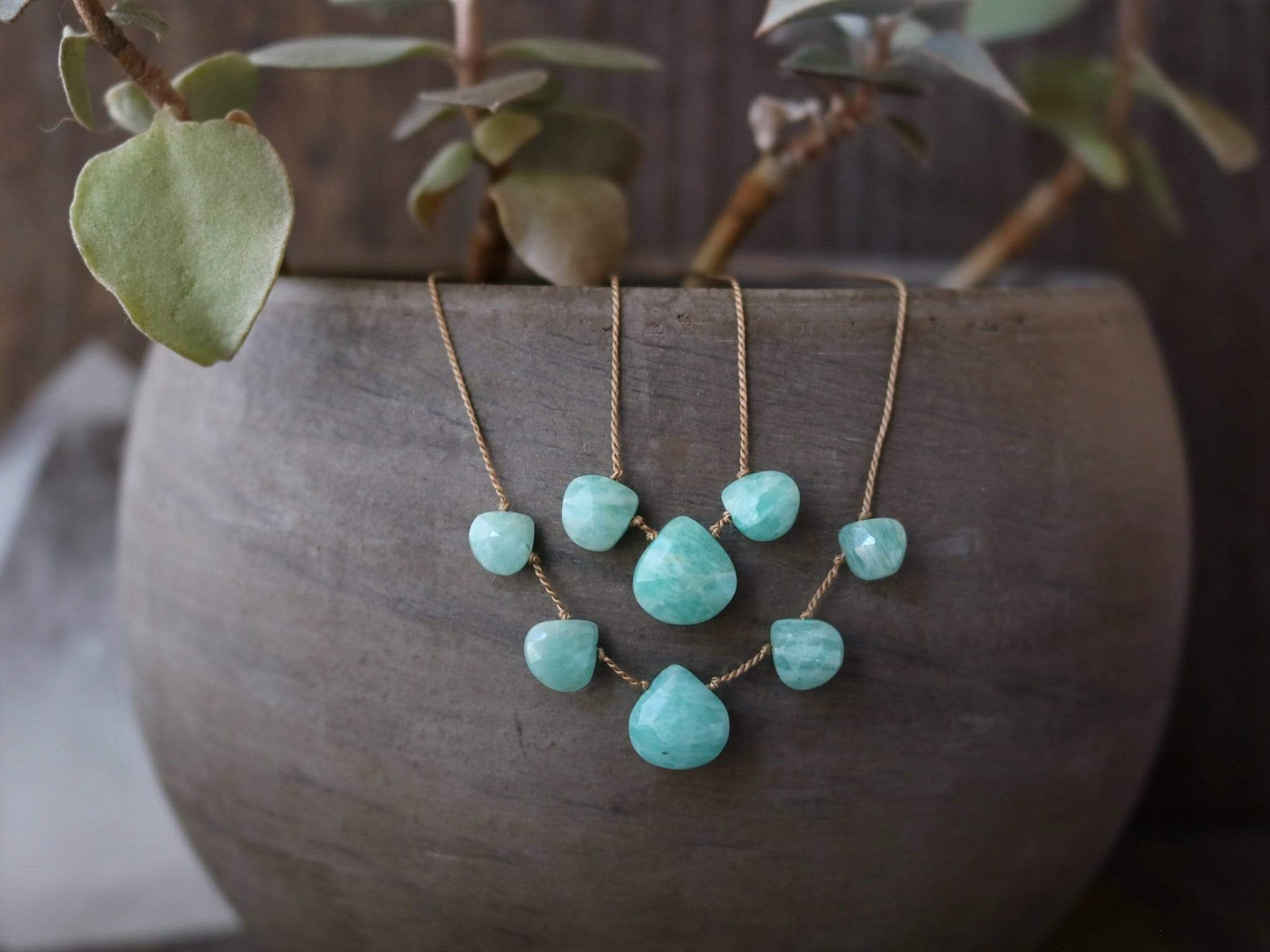 AMAZONITE Vibe Necklace