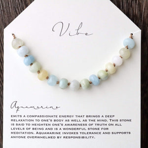 AQUAMARINE Vibe Necklace