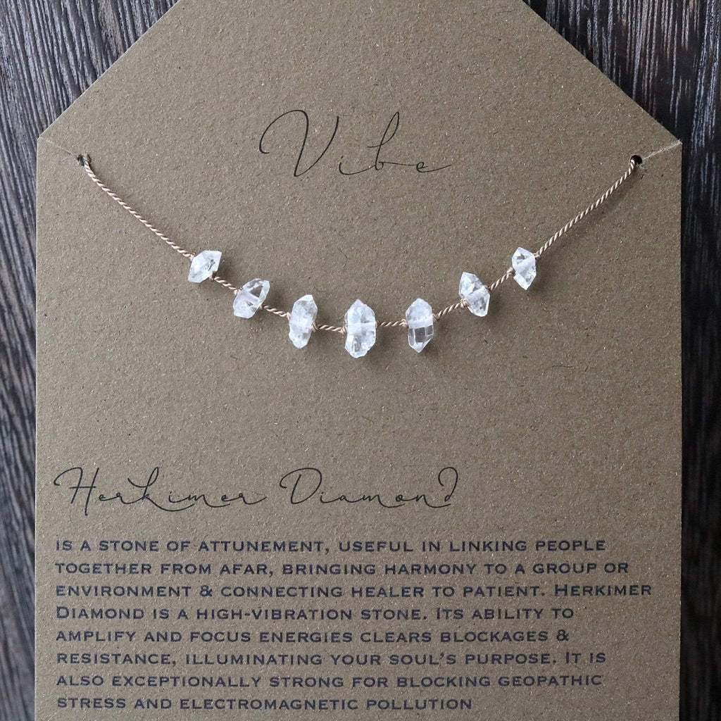 HERKIMER DIAMOND Vibe Necklace