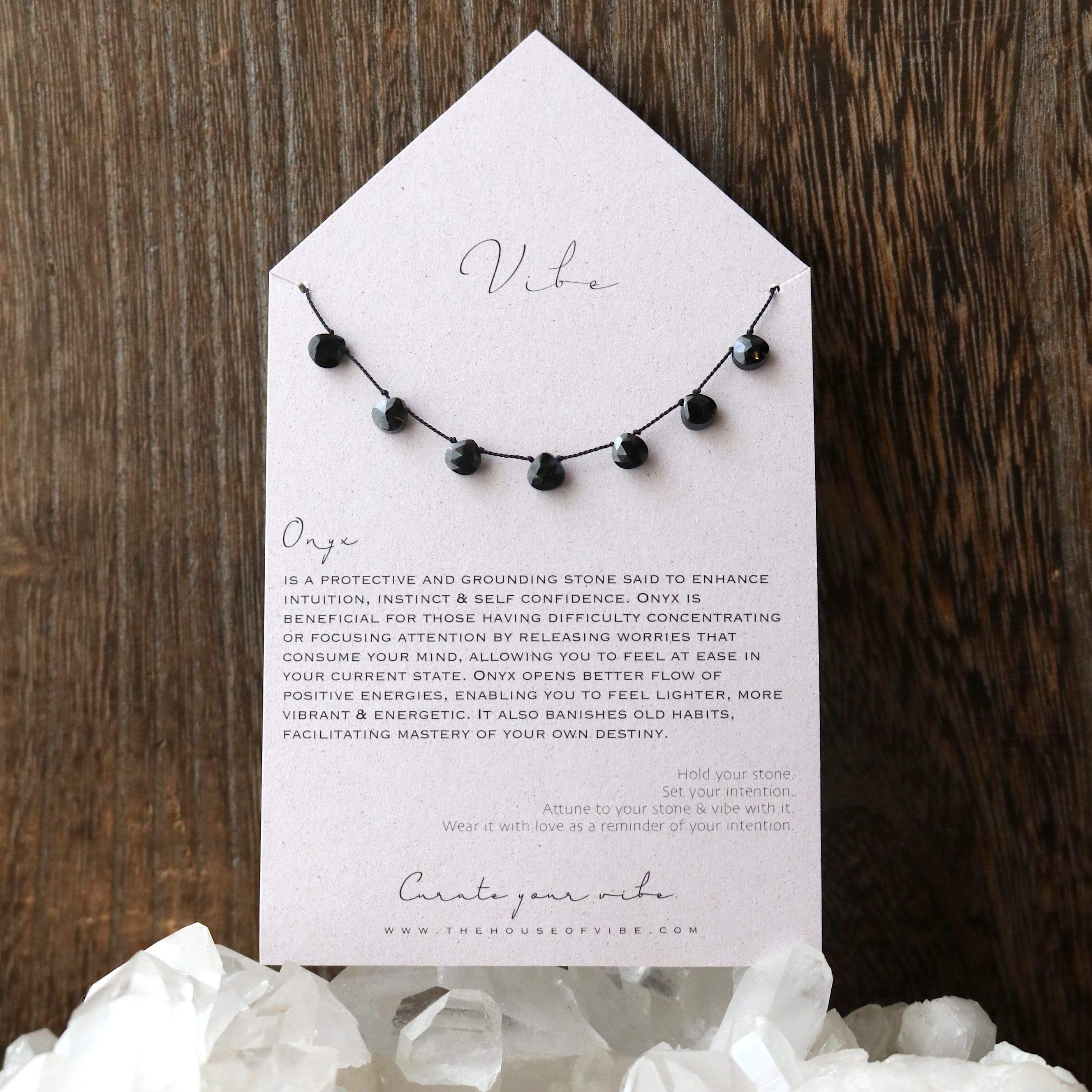 ONYX Vibe Necklace