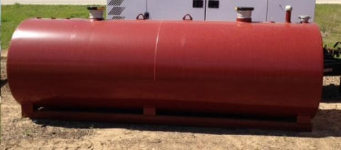 1000 Gallon UL142 Rated Double Wall Fuel Storage Tank