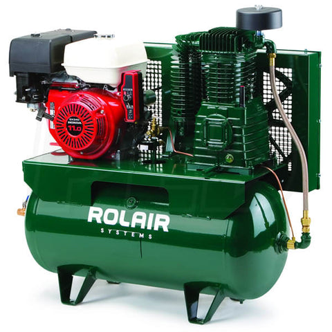 ROLAIR 13GR30HK30 13HP 30 Gallon Tank Gas Compressor