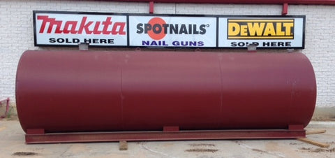 2000 Gallon UL142 Rated Double Wall Fuel Storage Tank