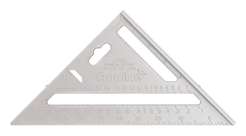 "Empire 7"" Aluminum Rafter Square"