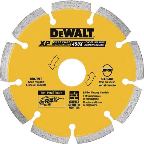 "DeWalt 5"" XP Tuck Pointing Blade"