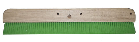 "Magnolia Brush 48"" Green Nylon Concrete Finishing Brush"