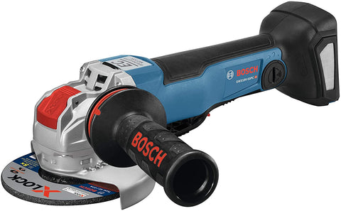 Bosch GWX18V-50PCN 18V X-LOCK EC Brushless Connected-Ready 4-1/2 In