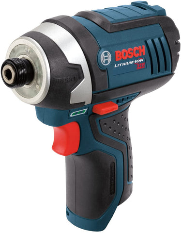 Bosch PS41BN 12-Volt Max Lithium-Ion 1/4-Inch Hex Impact Driver with Exact-Fit L-BOXX Tool Insert Tray