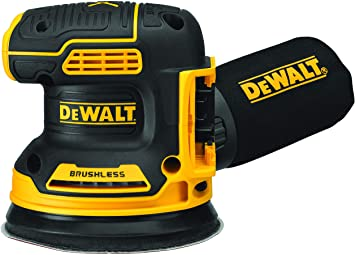 Dewalt 20V MAX* XR® 5 IN. BRUSHLESS CORDLESS VARIABLE-SPEED RANDOM ORBITAL SANDER DCW210B