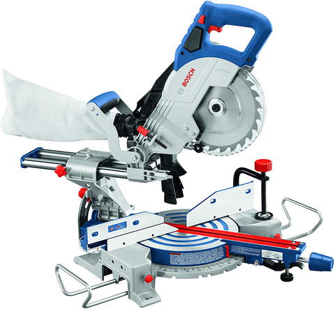 Bosch GCM18V-08N 18V 8-1/2 In. Single-Bevel Slide Miter Saw