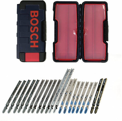 Bosch 21-Piece T-Shank Contractor Jig Saw Blade Set TC21HC