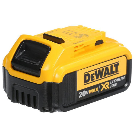 DeWalt 20V MAX* Lithium Ion Battery Pack W. Fuel Gauge 4.0Ah