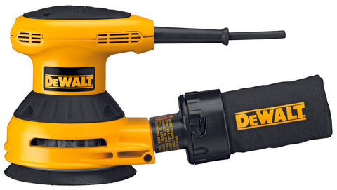 "Dewalt 5"" SINGLE SPEED RANDOM ORBIT SANDER - PSA PAD DWE6420"