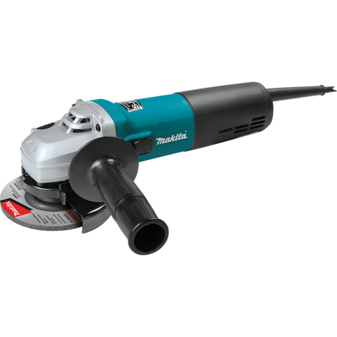 "Makita® 4 1/2"" SJS™ High‑Power Angle Grinder"