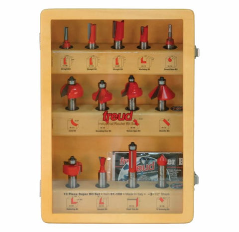 Freud 91-100 13 Piece Super Bit Set