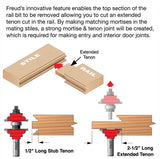 "Freud 99-269 1‑7/8"" Entry & Interior Door Router Bit System"