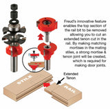 "Freud 99-862 1‑11/16"" Premier Adjustable Rail & Stile Bit ‑ Shaker"