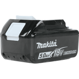 Makita® 18V LXT® Lithium‑Ion 5.0Ah Battery
