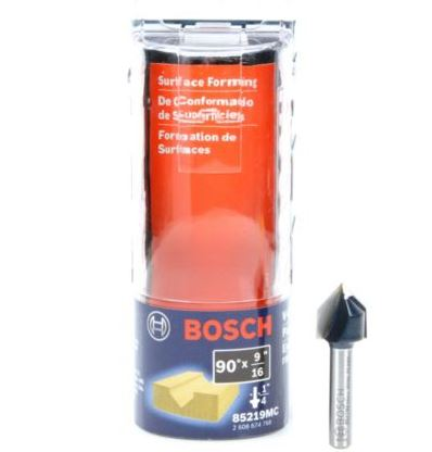 "Bosch 9/16"" Carbide-Tipped V-Groove and Scoring Bit"