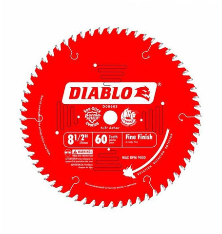 Diablo Fine Finish Saw Blades | Carbide Tipped