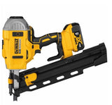 DeWalt 20V MAX* 21° Plastic Collated Cordless Framing Nailer Kit