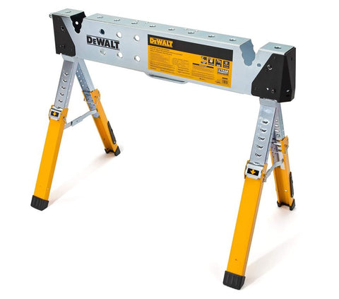 DeWalt Adjustable Height Portable Steel Welding Sawhorse