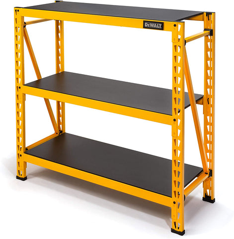 "DeWalt 48"" 3-Shelf Industrial Storage Rack"