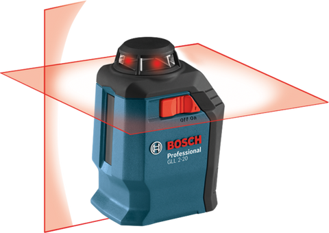 Factory Reconditioned Bosch 360° Horizontal Cross-Line Laser