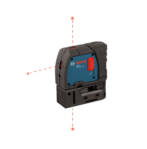 Factory Reconditioned Bosch 3-Point Self-Leveling Alignment Laser