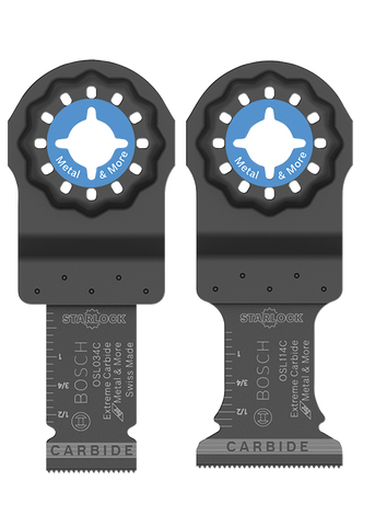Bosch Starlock® 2Pc Oscillating Multi-Tool Accessory Blade Set