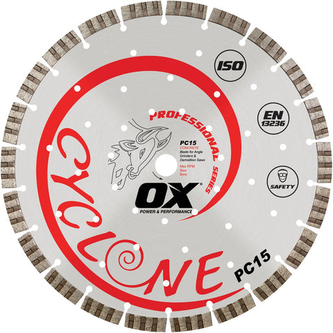 "OX 12"" Supercut Segmented Diamond Blade"