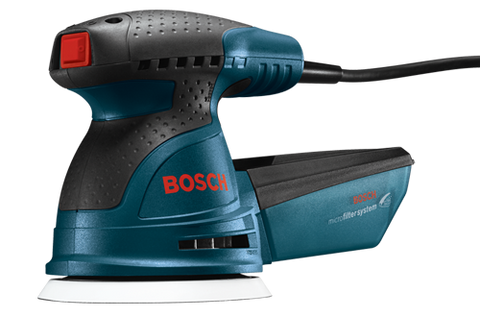 "Factory Reconditioned Bosch 5"" Palm Random Orbit Sander/Polisher"