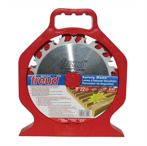 "Freud SD308 8"" Safety Dado Sets"