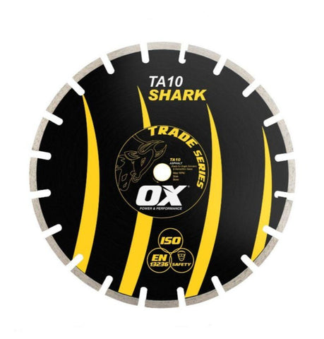 "OX 14"" Segmented Diamond Blade Asphalt"