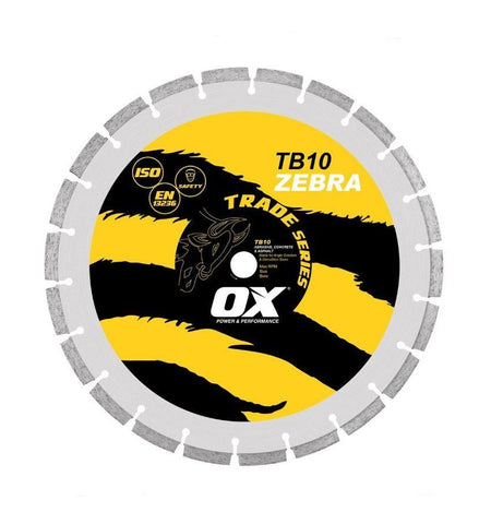 "OX 14"" Segmented Diamond Blade General Purpose"