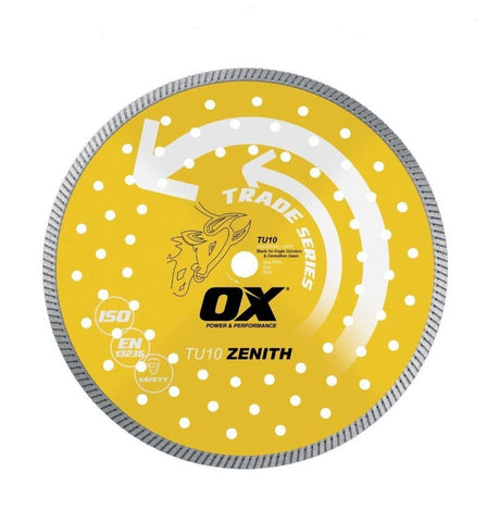 "OX 14"" Turbo Diamond Blade"