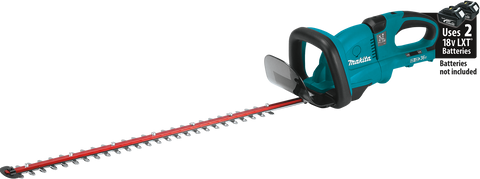 "Makita 18V X2 (36V) LXT® Lithium‑Ion Cordless 25‑1/2"" Hedge Trimmer"
