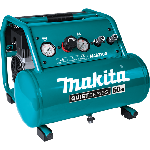 Makita® Quiet Series 1 1/2HP Electric Air Compressor