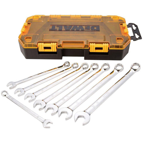 DeWalt 8 PIECE COMBINATION WRENCH SET DWMT73809