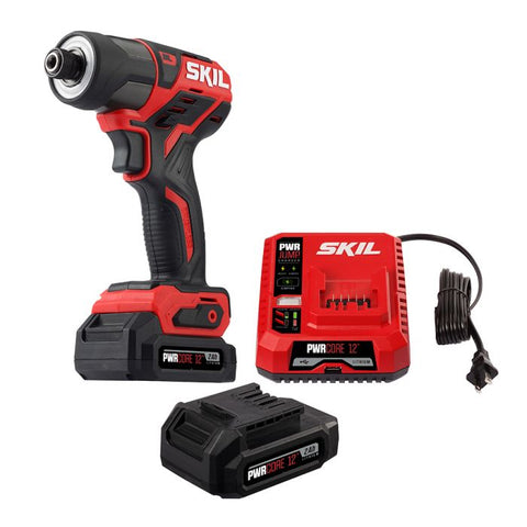 SKIL ID574402 PWR CORE 12 BRUSHLESS 12V 1/4'' HEX IMPACT DRIVER