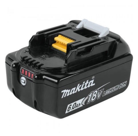 Makita 18V LXT® Lithium‑Ion 6.0Ah Battery