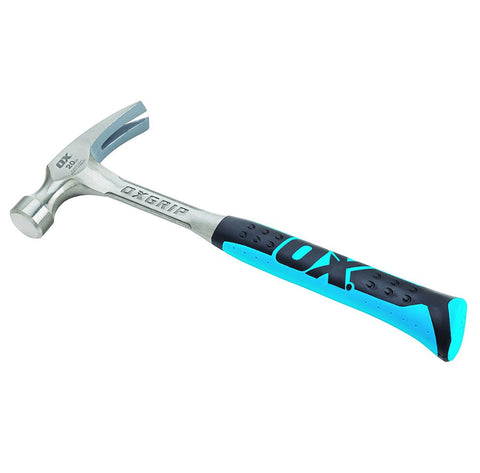 OX Straight-Claw Rip Hammer - 20 Oz