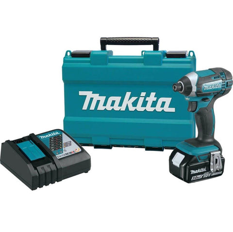 Makita 18V LXT® Lithium‑Ion Cordless Impact Driver Kit (3.0Ah)