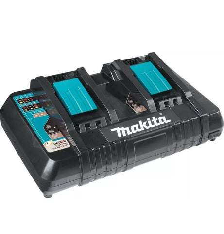 Makita 18V LXT® Lithium‑Ion Dual Port Rapid Optimum Charger (Open Stock)