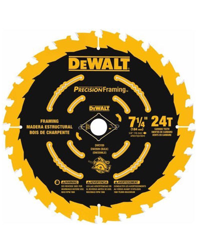 "(10 Pack) DeWalt 7-1/4"" Precision Framing™ Blades"